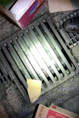 Water waste found down a stormwater drain during the recent Operation Scrap audit.