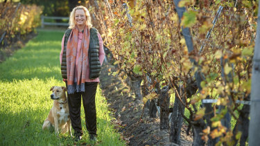 Vanya Cullen is a firm believer in following the biodynamic calendar during vintage.
