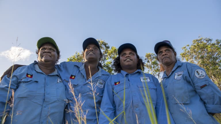 The rangers play a vital part in protecting nature and cultural heritage.
