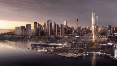 Sydney Lord Mayor Clover said she had concerns about The Star's proposed 237-metre tower.
