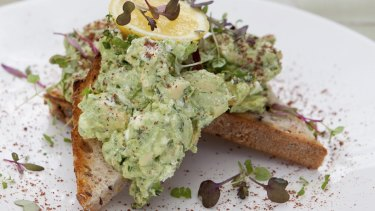 You can't have your smashed avocado on toast and eat it too.