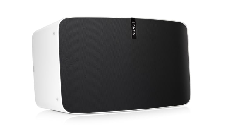 The Sonos Play:5 is even bigger and more expensive, but doesn't have Google's smarts.