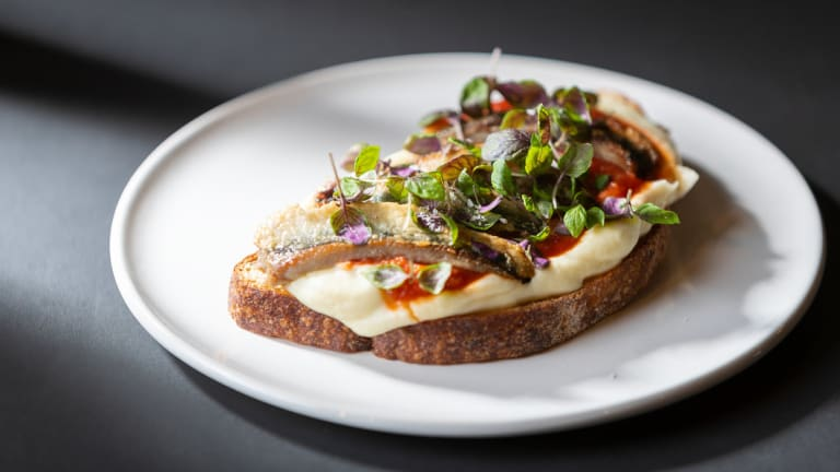 The sardines done with a celeriac puree with spiced tomato on rye have been a surprise hit.
