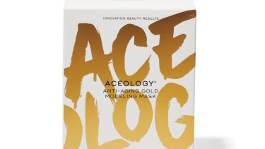 Aceology Beauty Anti-Aging Gold Modeling Mask.
