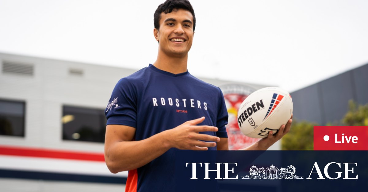 NRL trials 2021 LIVE updates: Joseph Suaalii set to play for Roosters' feeder side