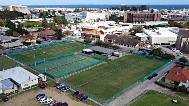 Fremantle Lawn Tennis Club was hoping for a $361,000 sports grant, but say they were in the wrong federal electorate.