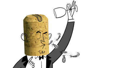 Why do fine-dining waiters monopolise the wine?