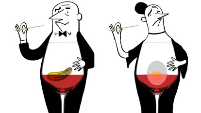 Should I avoid food when tasting expensive wine?