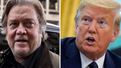 Donald Trump pardons former adviser Steve Bannon