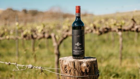 St Hugo wine.