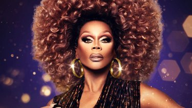 American drag queen and TV personality RuPaul Charles.