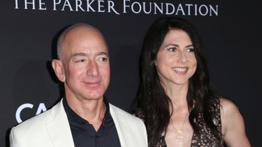 Jeff and MacKenzie Bezos are splitting after 25 years of marriage.
