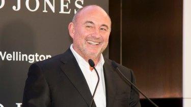 David Jones chief executive Ian Moir.