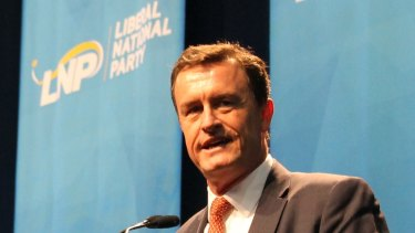 Former LNP president Gary Spence challenged Labor's property developer donation laws in the High Court.