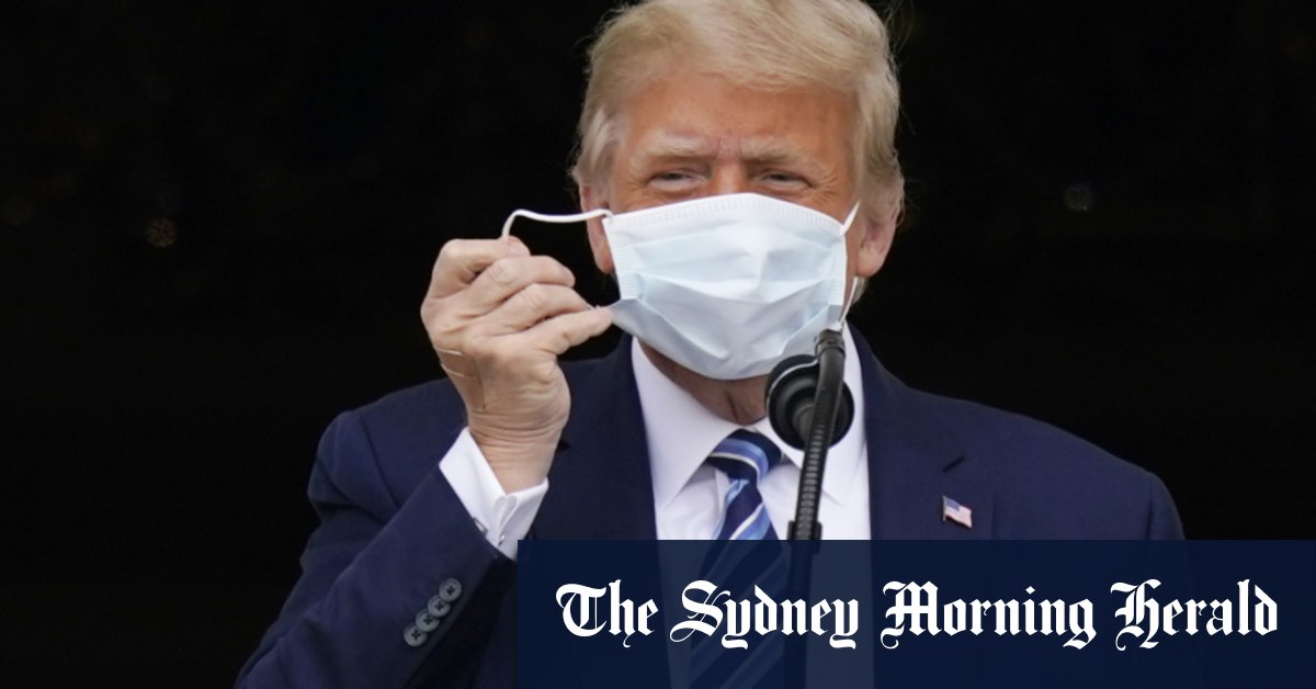 Trump tests negative to COVID-19 on consecutive days: White House doctor – Sydney Morning Herald