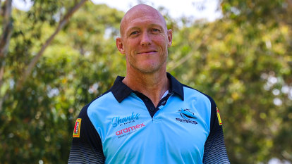 Up, up and away: New Sharks coach Fitzgibbon eyeing success at Cronulla
