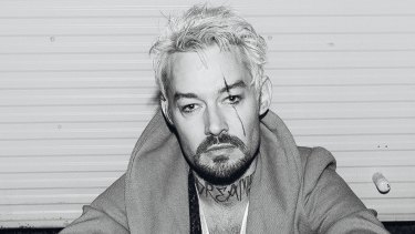 Daniel Johns, former frontman of Silverchair, who is suing the Sunday Telegraph for defamation.