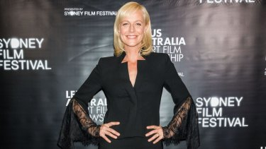 Marta Dusseldorp at the Lexus Australia Short Film Fellowship gala on Tuesday.