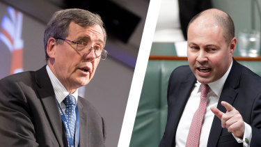 Victorian Liberal Party president Robert Clark and Federal Treasurer Josh Frydenberg are at loggerheads over the state division's plans to fast-track preselections.