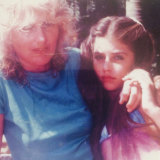 Jodhi and her mother in the 1980s, when she first found her style.