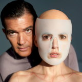 Antonio Banderas and Elena Anaya in The Skin I Live In. Banderas and Almodovar argued constantly during the shoot.