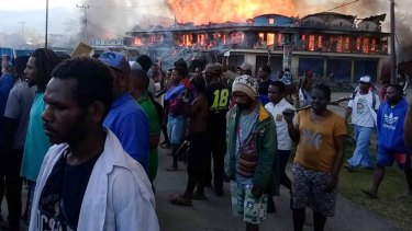Dozens were killed during a violent protest in Wamena, Papua province, this week.