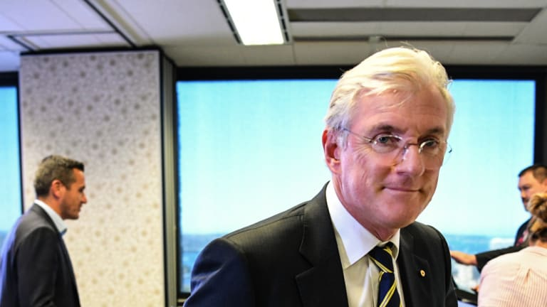 Outbound: Steven Lowy accepts defeat in the FFA power struggle.