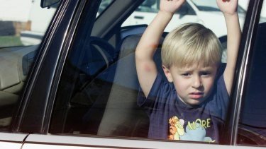 Queensland's peak motoring body RACQ has revealed it receives about five calls a day about a child or animal locked in a vehicle.