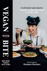 Vegan with Bite by Shannon Martinez is a testament to the burgeoning movement towards a vegan diet.