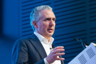 Telstra chief executive Andrew Penn has warned that NBN Co's high  wholesale prices are putting too much pressure on the industry.