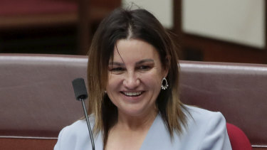 Jacqui Lambie is prepared to consider the government's revamped Ensuring Integrity Bill.
