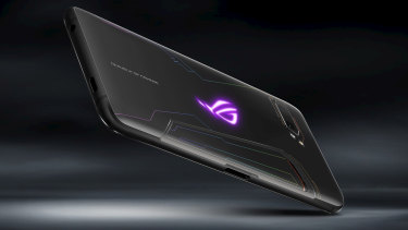 The ROG Phone II is hardly subtle, although you can leave the glowing LED turned off.