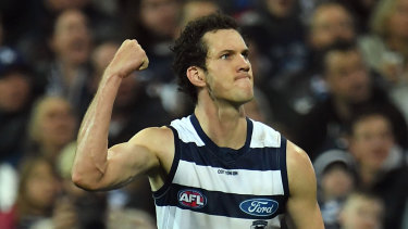 Darcy Fort played well for the Cats last weekend.