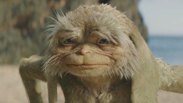 Sir Michael Caine voices the grumpy sand-fairy, Psammead.