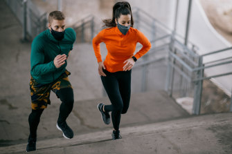 The study found a few seconds of strenuous effort, like sprinting up hills or stairs, provided enough stimulus to bolster already-robust hearts and muscle.