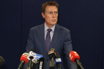 Attorney-General Christian Porter vehemently denied allegations made against him.