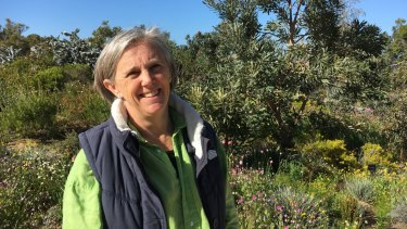 Lucy Stuart installed a vanadium battery at her Busselton nursery.