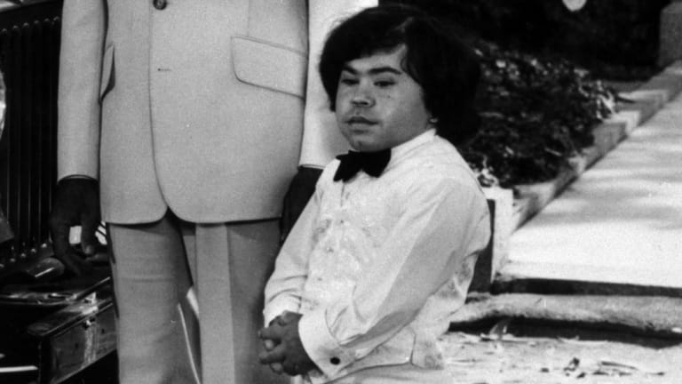 Hervé Villechaize in Fantasy Island in 1978.