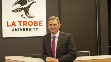 Mr Brumby will become Chancellor of La Trobe University in March.