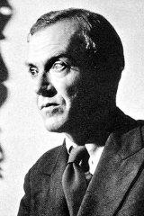 Author Graham Greene.