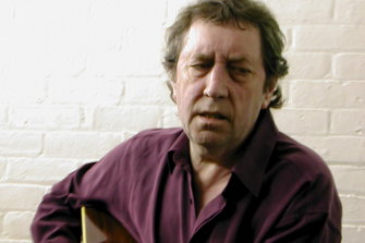 The late legendary, Scottish guitarist Bert Jansch.