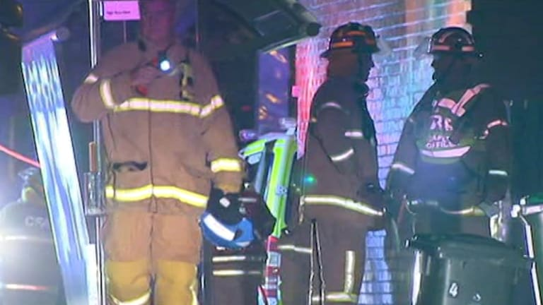 A man has died after hisBriar Hill home went up in flames overnight.