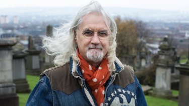 "Billy Connolly has admitted he's ""near the end"" of his life."