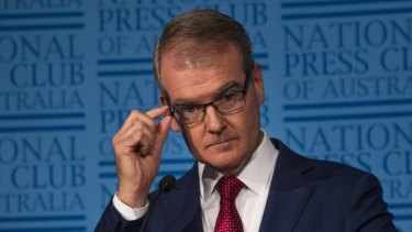 Michael Daley, NSW Leader of the Opposition, speaking at the National Press Club on Wednesday.