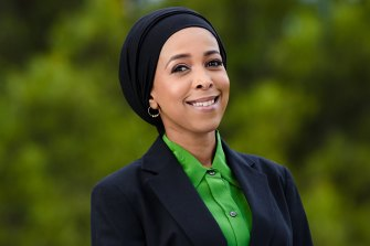 Councillor Anab Mohamud.