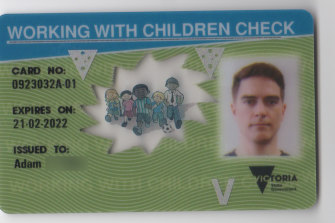 Adam Fox was able to obtain a working with children clearance in Victoria despite previous child abuse charges.