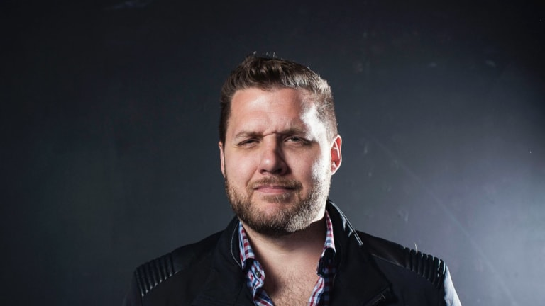 Mark Manson author of The Art of Not Giving a F-ck.