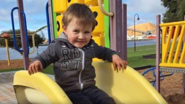 Blake Shaw was three when a cabinet fell on him and killed him.