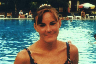 Jaime-lee Page's sister, Carol (pictured), was murdered by her stepfather in 1997.