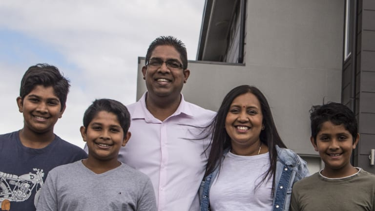 Nolan and Mandy Singh are in the market for a bigger home for their family.